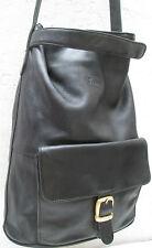 ASSIMA   Sac à main type seau  en cuir  Authetique  vintage