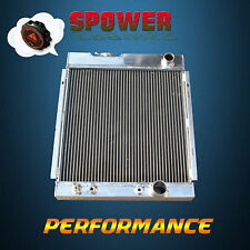3 Row Aluminum Radiator For Ford Falcon Mustang 289 302 Windsor V8 AT MT 63-66