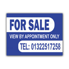FOR SALE Correx Sign Boards Estate Agent Property House Signs X 2 (CORCP00008)