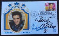 16.6.1993 Elvis Presley FDC USA Signed URSULA ANDRESS, James Bond, Dr No Actress