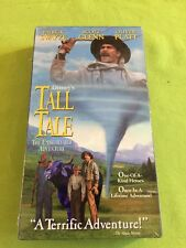 New Sealed Tall Tale: The Unbelievable Adventure (VHS Patrick Swayze