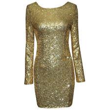 Polyester Patternless Regular Size Dresses for Women
