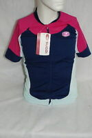 Sugoi RS Pro Jersey Womens Medium Indigo Cycling NEW