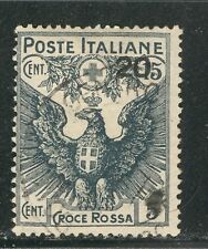 RED CROSS ON ITALY 1916 Scott B4 VERY FINE CANCELLED