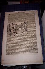 1493 - CRONACHE DI NORIMBERGA - SEXTA ETAS MUNDI - FOLIUM CCLVI