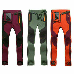Womens Waterproof Hiking Outdoor Tactical Trousers Warm Trousers Assault Size UK