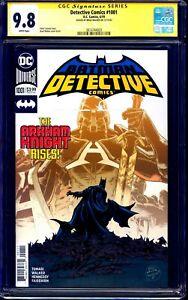 Detective Comics #1001 CGC SS 9.8 signed by Brad Walker BATMAN ARKHAM KNIGHT