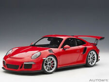 Autoart Porsche 911 991 GT3 RS 1:18 Model Red / Silver Wheels 78165