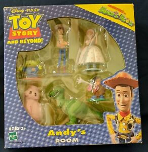 2002 Toy Story And Beyond Adventures In Andy's Room Figurines in sealed box