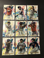 2020 Topps Inception Houston Astros Team LOT Yordan Alvarez Rookie RC