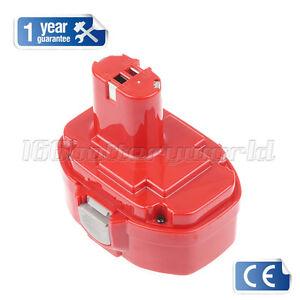 1.3Ah Battery for Makita PA18 1822 192827-3 192826-5 8390D 8391D BMR100 NiCd 18V