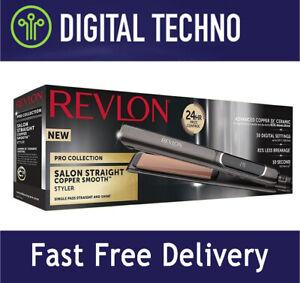 NEW Revlon Pro Salon Straight Copper Smooth Extra Long Hair Styler Heat 80-235°C