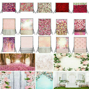 Romantic Flower Wedding Photography Backdrop Lover Photo Background Prop Gift