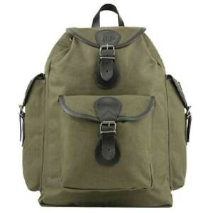 JACK PYKE CANVAS DAY PACK GREEN Vintage Hunting Shooting Backpack Rucksack Bag