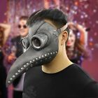 Plague Doctor Mask Birds Mouth Long Nose Beak Faux Latex Steampunk Costume Gift