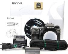 Pentax k-3 23,4 MP Fotocamera Digitale DSLR Body chassis 41582 trigger Top * 8
