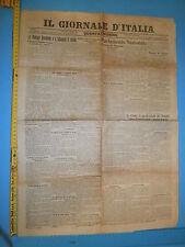 24/03/1908 IL GIORNALE D'ITALIA le Potenze discotono e a Salonicco si uccide 222