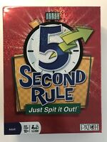 Five 5 Second Rule Just Spit it Out Family Fun Party Board Adult Game  (I)
