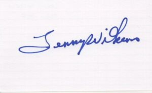 Lenny Wilkens - NBA Great, Basketball Hall of Fame - Signed 3x5 Card
