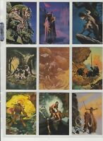 1995 FPG EVERWAY VISION CARDS SET OF 90 COMPANION COLLECTOR CARDS - Fantasy Art