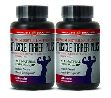 Healthy Mind - MUSCLE MAKER PLUS - Sexual Health - Lean Muslce - 2B 120Ct