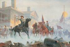 General Gordon, Cedar Creek Virginia --- Confederacy Military Civil War Postcard