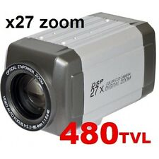 CCTV Box Type Day/Night All In One 27X Zoom CCTV Camera Sony CCD High-Res