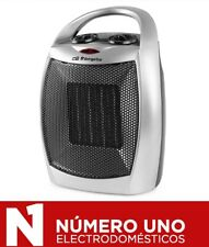 Calefactor cerámico Orbegozo CR 5016, 1500W, 2 niveles de potencia, plata