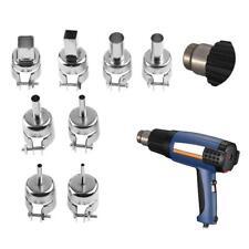 8pcs Round Heat Gun Soldering Station Blower Nozzles For 850 Hot Wind Air Gun