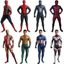 Adult Superhero Costume Cosplay Spiderman Iron Man Aquaman Venom Superman Qualit
