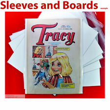 Tracy Girls Comic New Bags and Boards A4 Acid Free Reseal / Tape Seal Size4 x 10