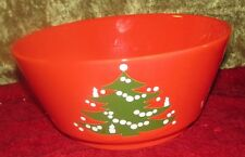 Waechtersbach Christmas Tree Serving Bowl Red Green Germany