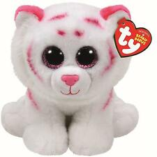 Ty Beanie Babies 42186 Tabor the Tiger Pink
