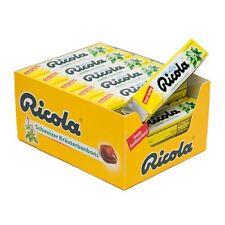 RICOLA Lemon-Mint 24 count sticks of 10 drops each