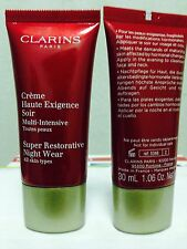 CLARINS Super Restorative Night Cream  - 2 x 30 ml - new