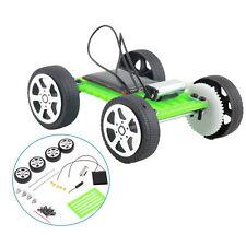 Mini Solar Powered Motor Toy DIY Kit Car Hobby Robot For Kids Educational Gadget