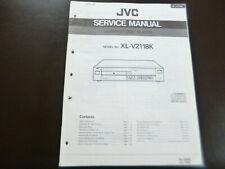 Original Service Manual Schaltplan JVC XL-V211BK