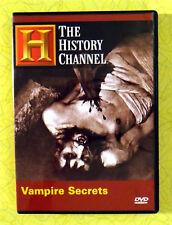 The History Channel - Vampire Secrets ~ DVD ~ Horror Documentary Show Video