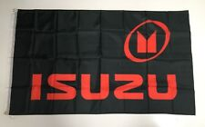 Isuzu Truck Banner Flag - Car D Max Tray Emblem Semi Mechanic Workshop Man Cave