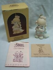 """Precious Moments """"Waddle I Do Without You"""" Girl Christmas Tree Ornament New"""