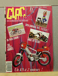 Magazine Clac Mob N°16 - moto mobylette scooter solex