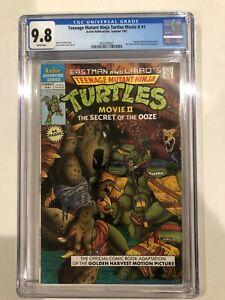 Teenage Mutant Ninja Turtles 2 Secret of the Ooze CGC 9.8 (Only 7 on Census)