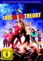 The Big Bang Theory - Die komplette fünfte Staffel / Season 5 - DVD - 2012 - NEU