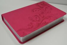 Kjv Large Print Personal Size Bible Pink Leathertouch Brand New in Shrink Wrap!