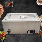 Electric Countertop Heat Preservation Soup Pool Warmer Buffet Commercial Restau