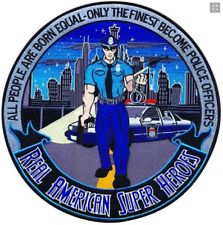 "PATCH Real American Hero Police 5"" version"