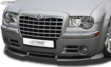 RDX Spoilerlippe für Chrysler 300C Bj. 04 - 10 Front Ansatz Schwert Lippe