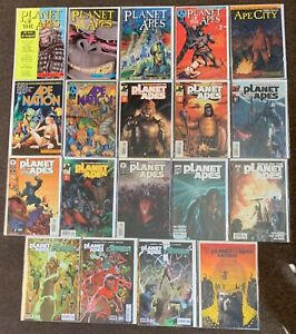 Planet of the Apes #1,3,4,14,1,2,4,1,1,5,1,5,1,5,1,1,5,61 Dark Horse Boom lot Nm