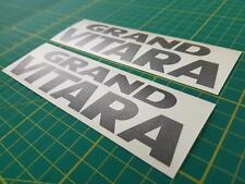 Suzuki Grand Vitara GV  decals stickers graphics Side restoration replacement