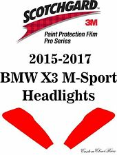 3M Scotchgard Paint Protection Film Pro Series Kit 2015 2016 2017 BMW X3 M-Sport